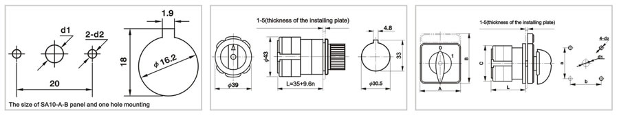 salzer rotary cam switch wiring diagram salzer wiring diagrams